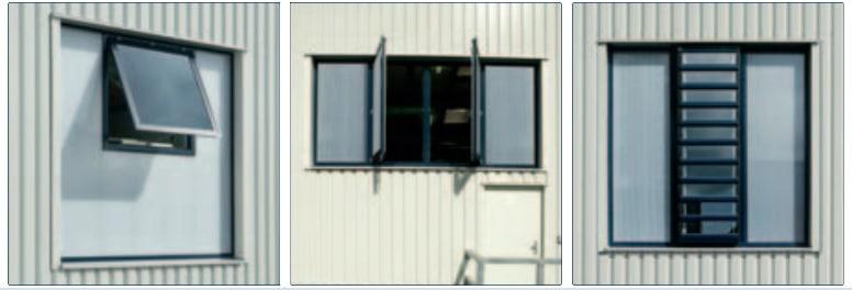 ESSMANN fasado svieslangiai orlaidziu montavimo variantai Anvy
