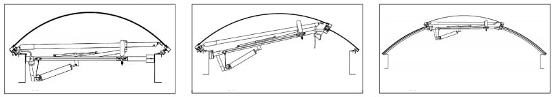 ESSMANN sviesos takeliai atidarymo variantai Anvy 2
